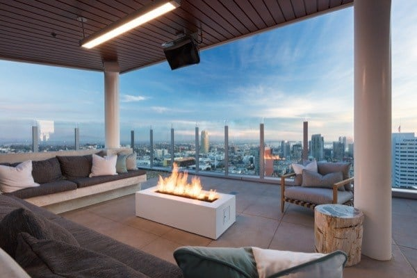 rooftop views at The REY in San Diego, CA