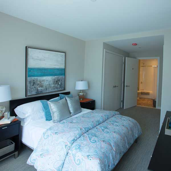 Apartment features at VIA Seaport Residences
