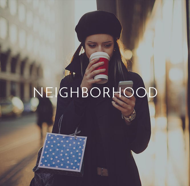 Explore the VIA neighborhood