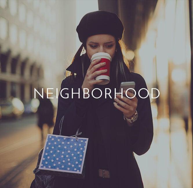 Explore the VIA Seaport Residences neighborhood