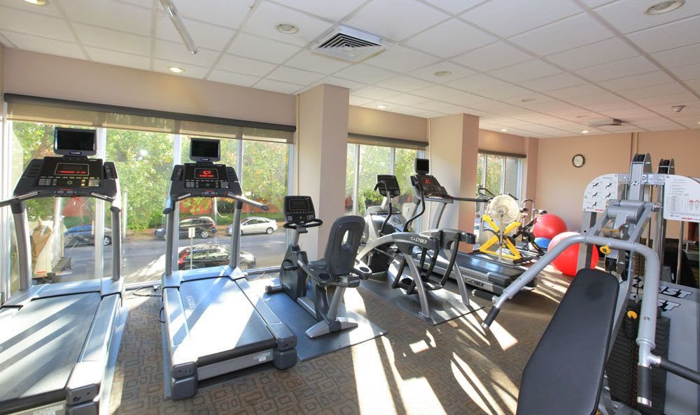 St Louis apartment fitness center