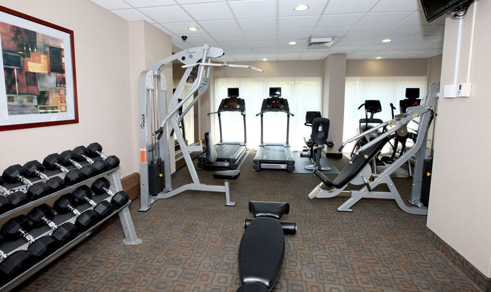 Fitness center at our St Louis apartments
