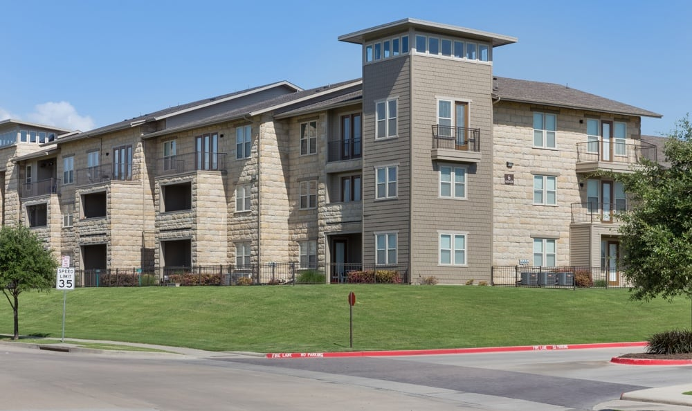 Exterior of our apartments in Richardson