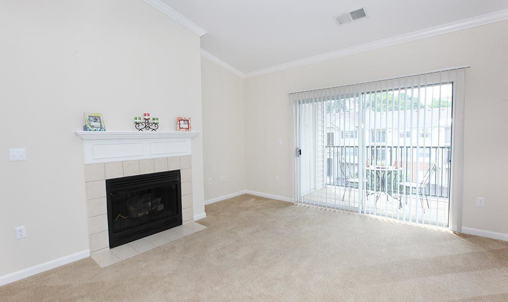 Annapolis MD apartments with fireplaces