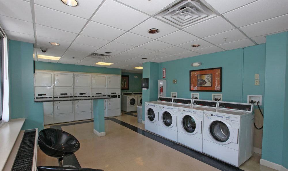Washer and dryer amenities at our apartments in Towson, MD