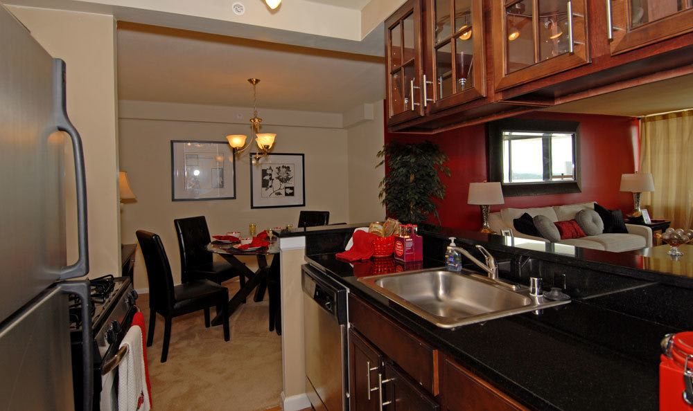 Spacious kitchen in our Towson, MD apartments