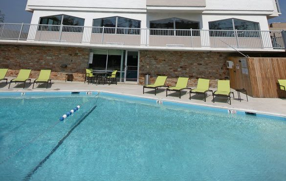 Community amenities at our Towson apartments