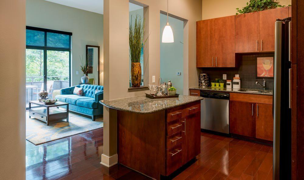Modern apartments in Atlanta