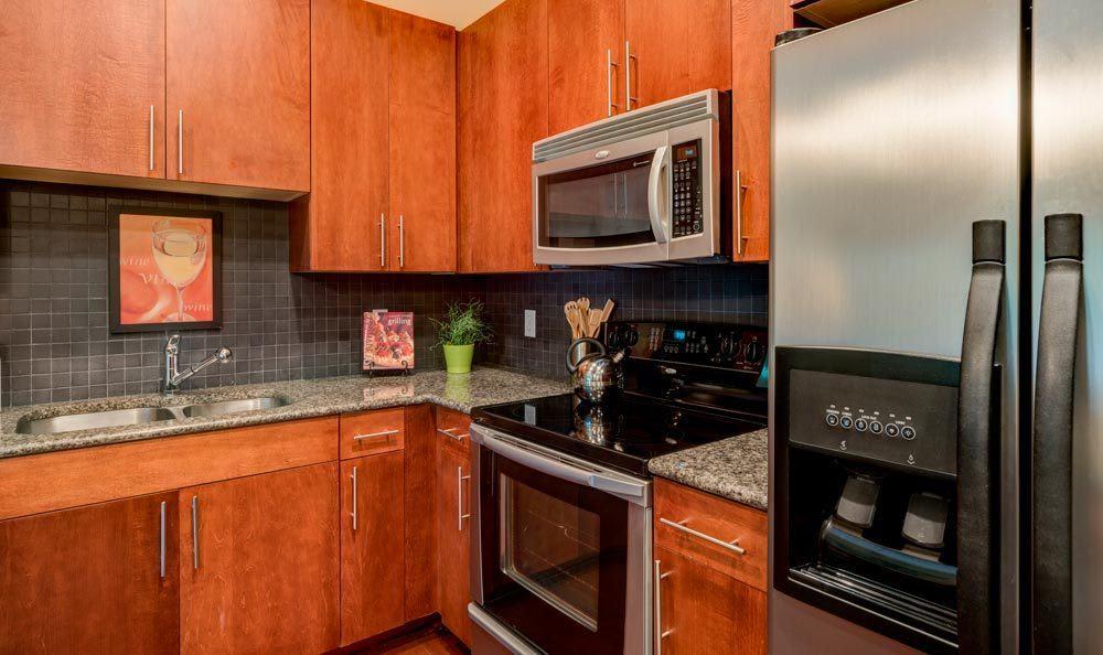 Atlanta apartments kitchen