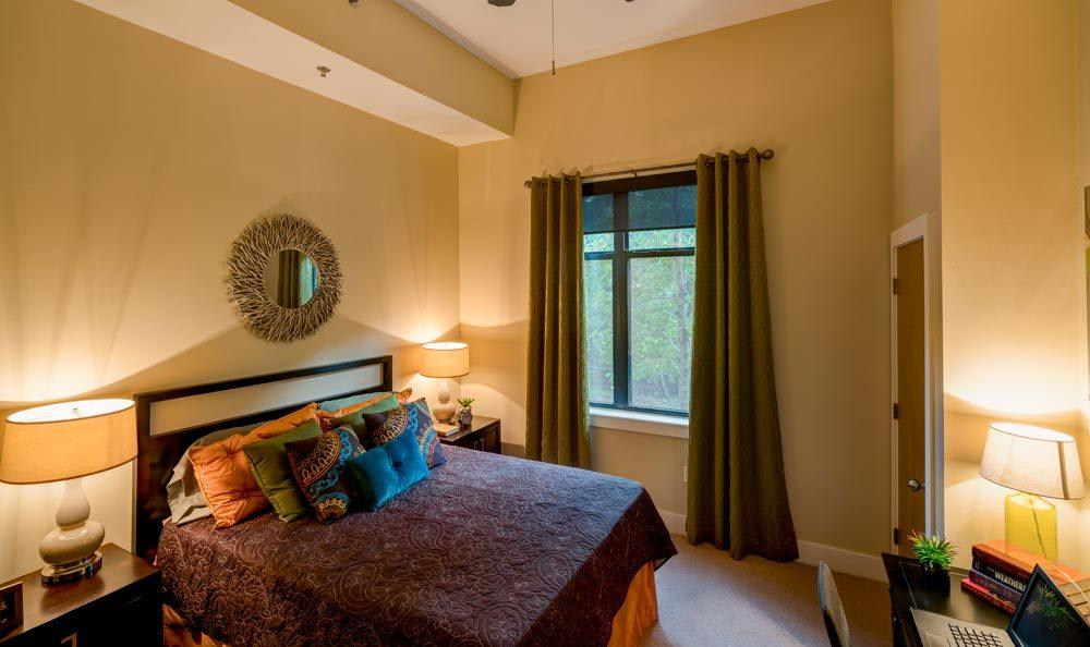 Bedroom at eon at Lindbergh