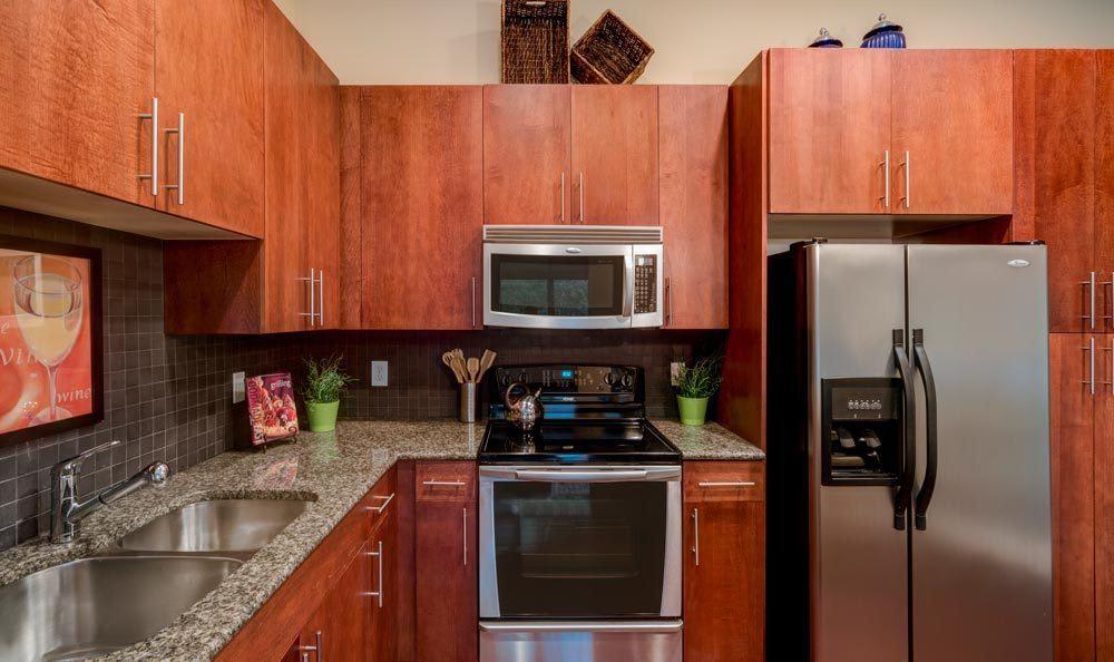 Atlanta apartments with modern kitchens
