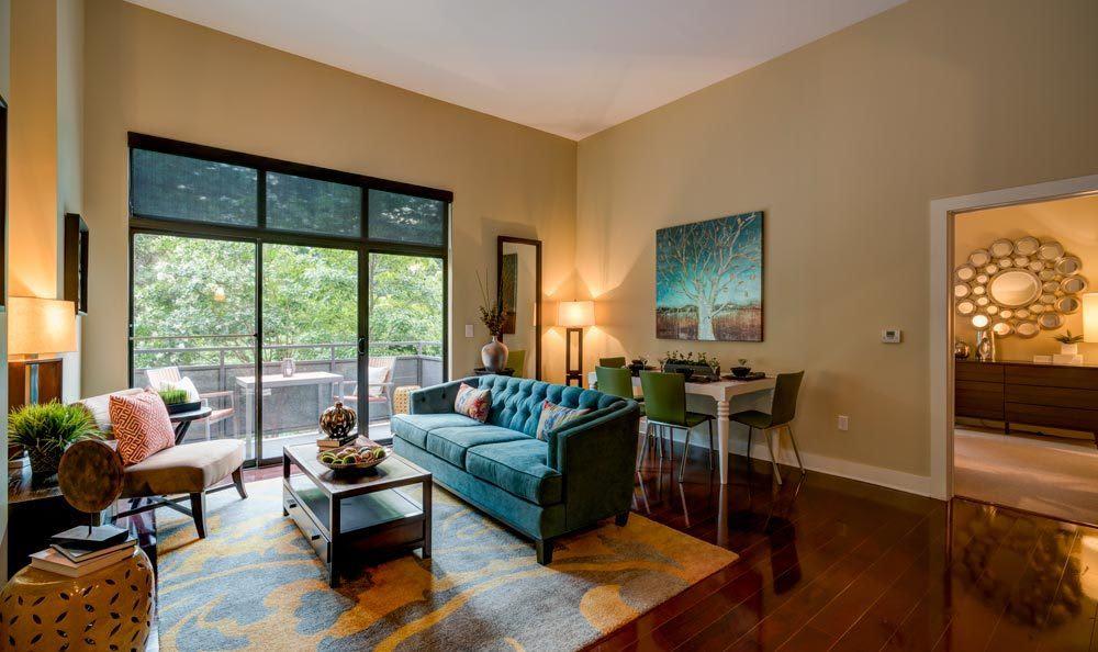 Atlanta apartments with spacious living rooms