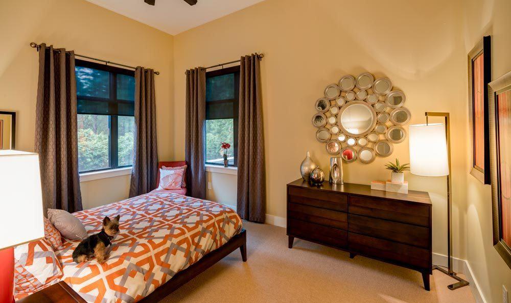 The master bedroom at our Atlanta apartments