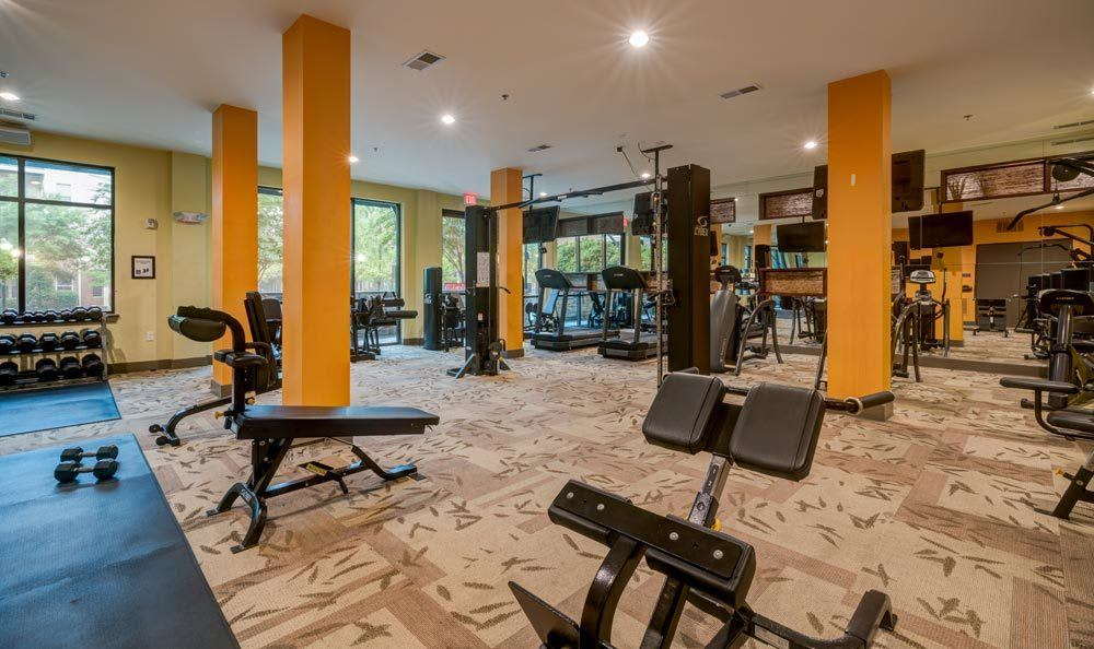 Amazing workout facility in our Atlanta apartments