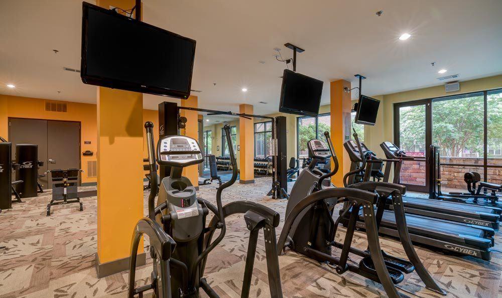 Gym at eon at Lindbergh