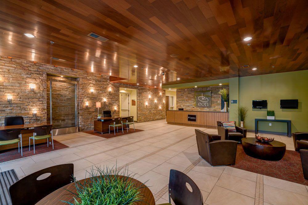 Lobby at eon at Lindbergh