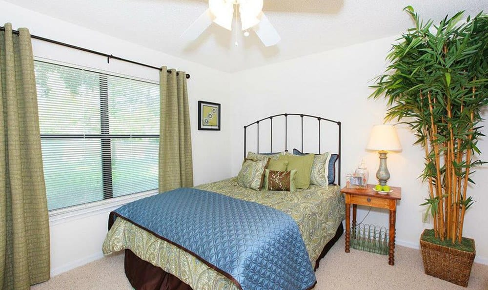 The master bedroom at our Orlando apartments