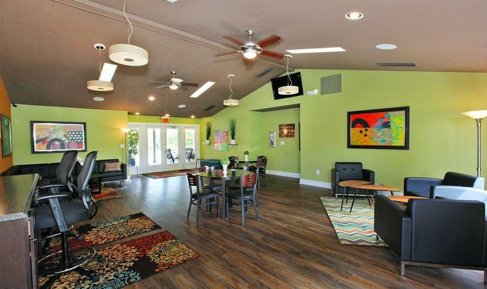 Modern interiors at our Orlando apartments