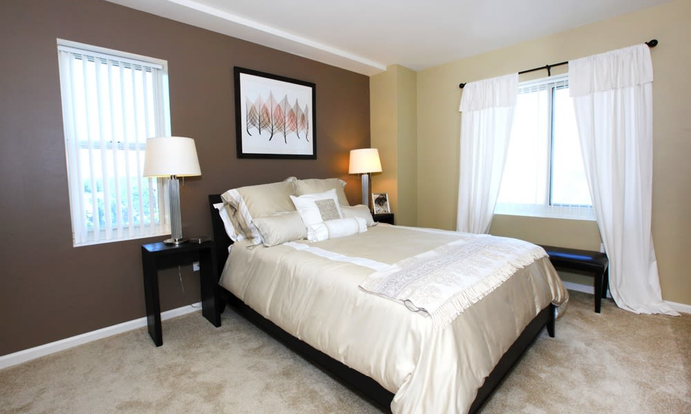 Quincy apartments have a spacious bedrooms