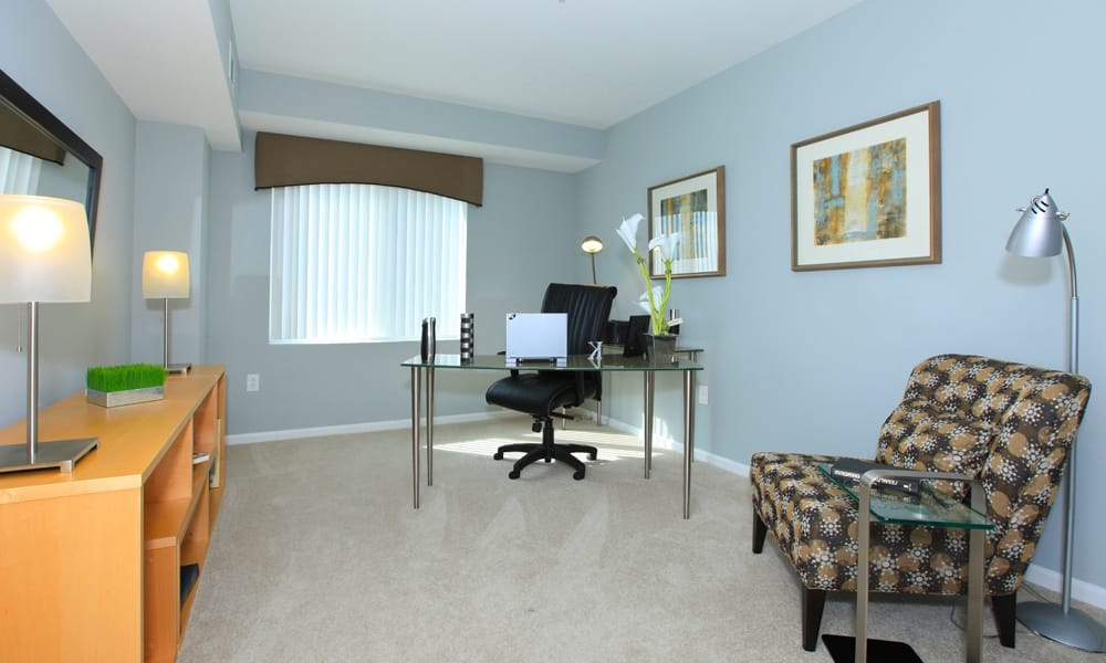 Home Office at Quincy Apartments