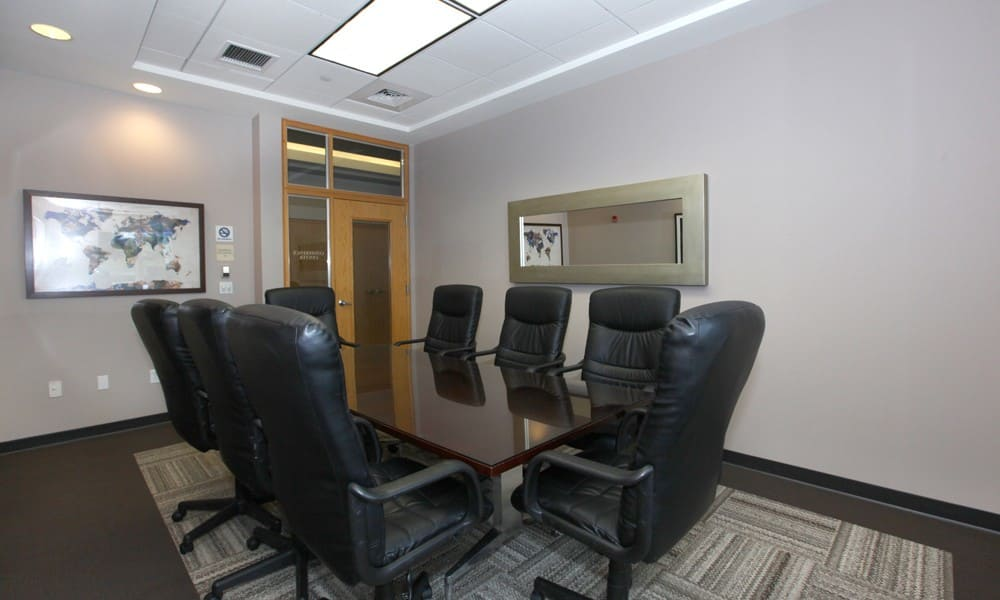 Conference Room at Quincy Apartments