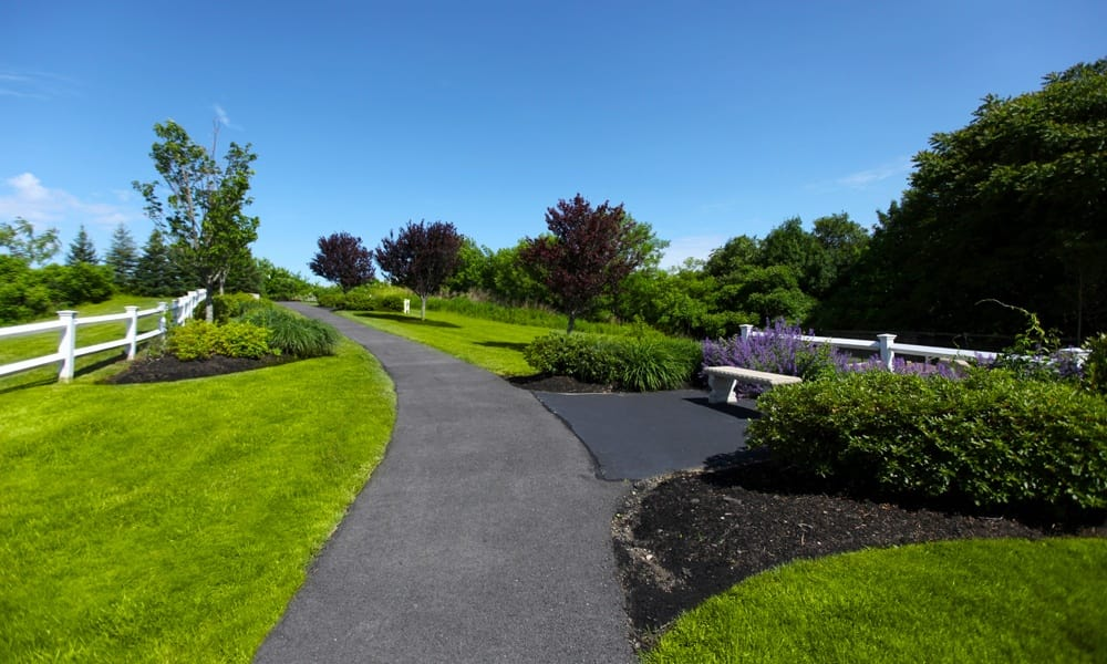 Walking Trail at Quincy Apartments