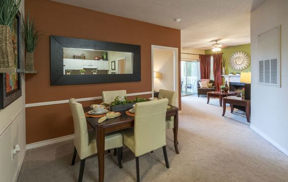 Beautiful impeccable features at our apartments!