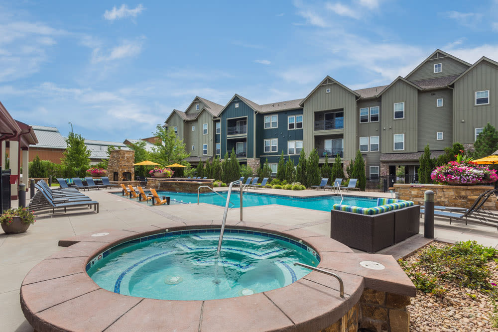 Littleton apartments with spacious living areas