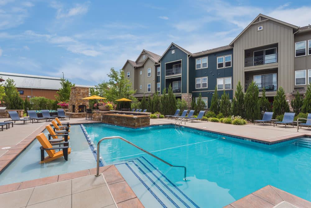 Littleton Apartments pool