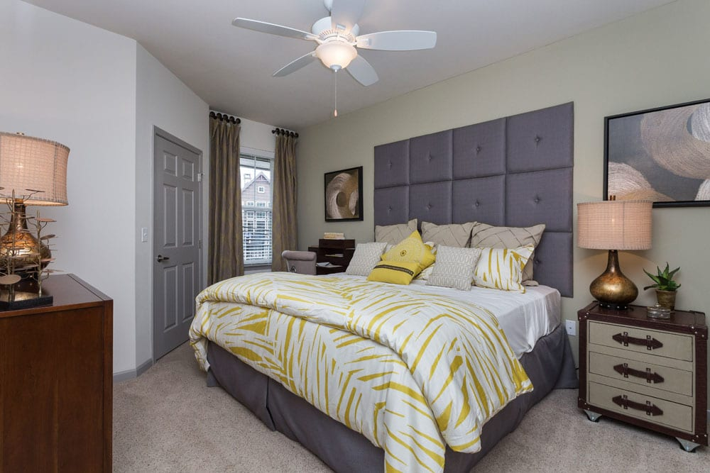 Littleton apartments offer comfortable bedrooms