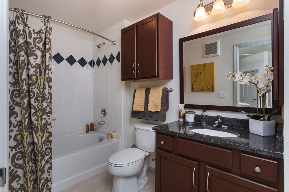 Bathroom at Berkshire Aspen Grove