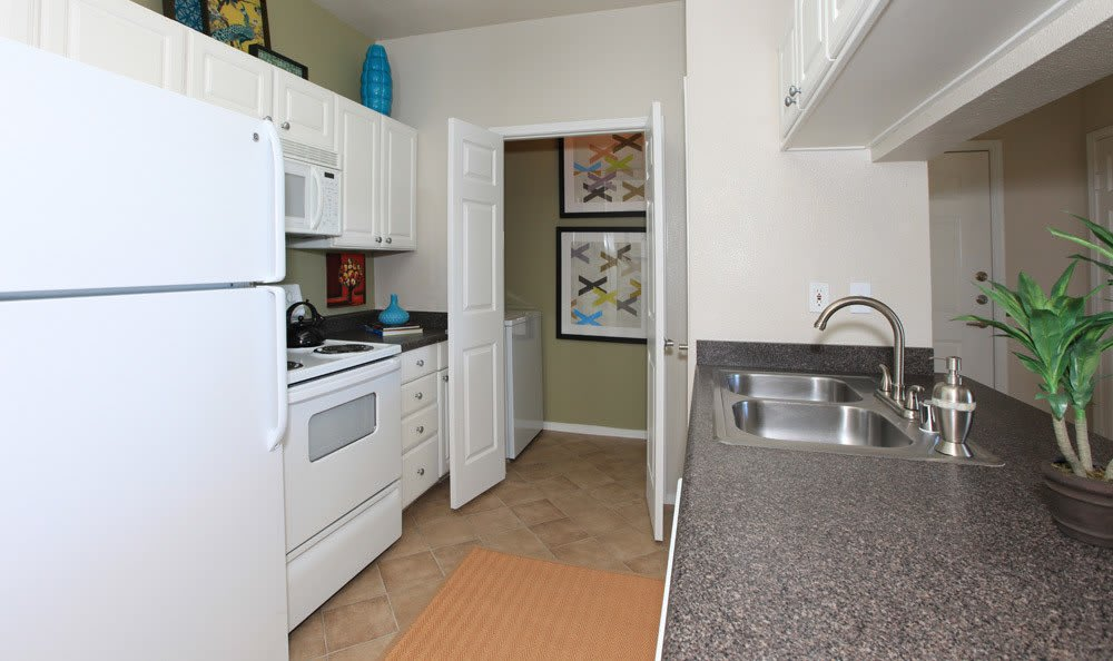 Fairfield apartments kitchen interior