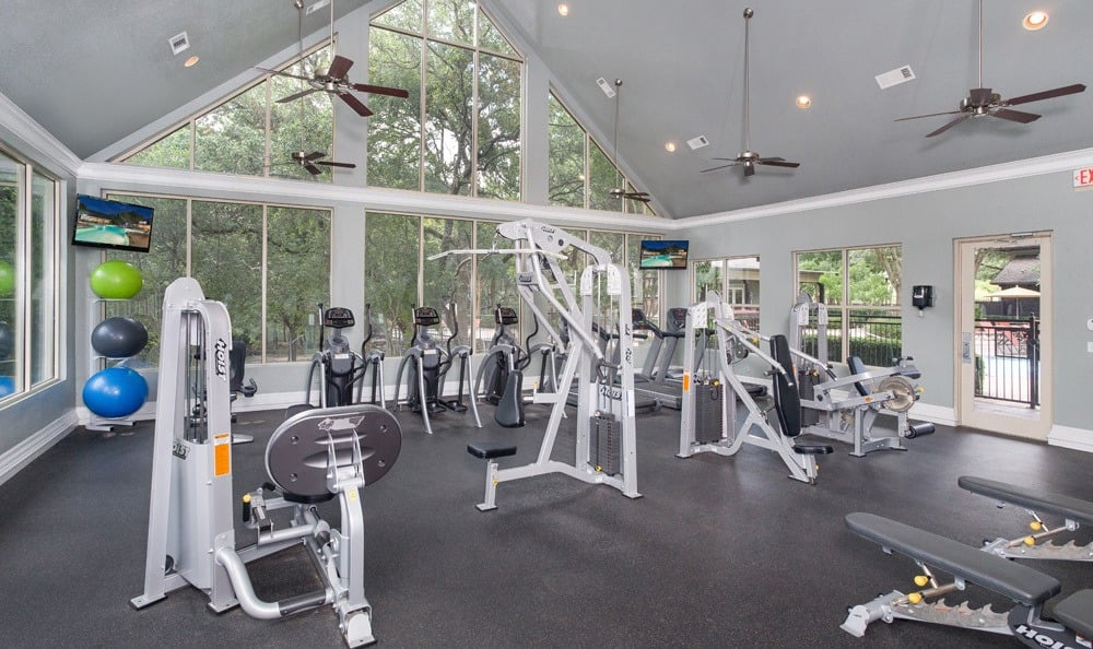Austin apartments offering a gym