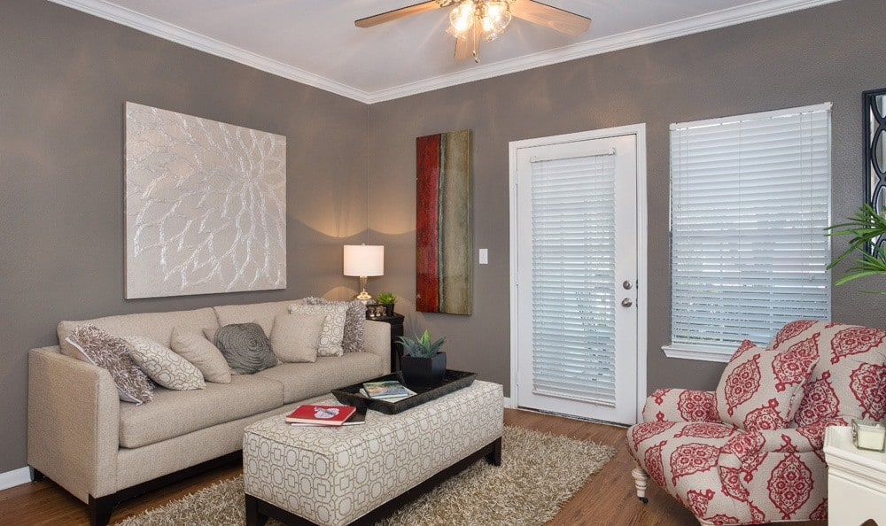 Austin apartments has spacious living rooms