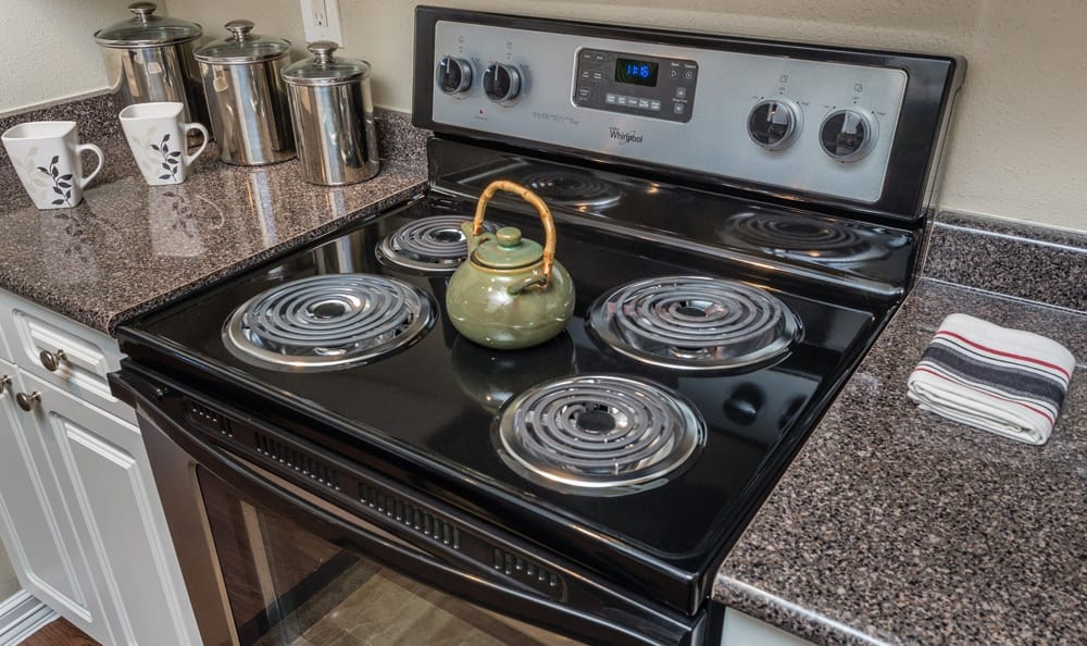 State of the art appliances in our Houston apartments