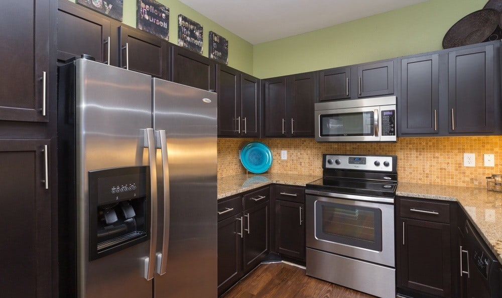 Spacious kitchens in our Houston apartments