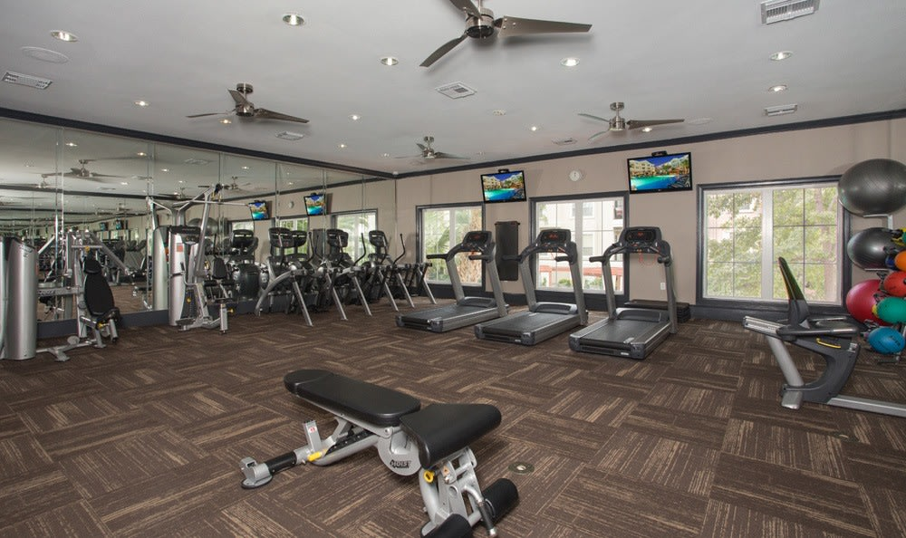 Fitness Center at our Houston, TX apartments