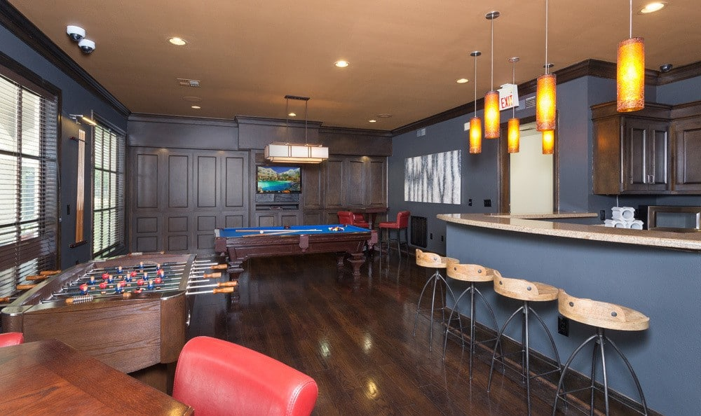 Community dining area at our Houston, TX apartments