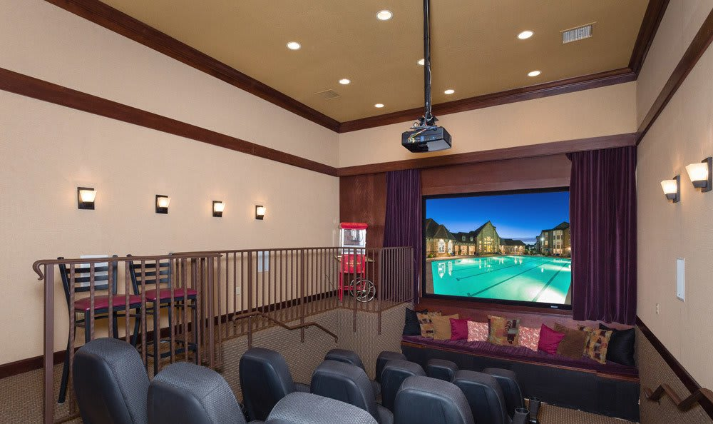 Thornton Colorado apartments offering a community theatre