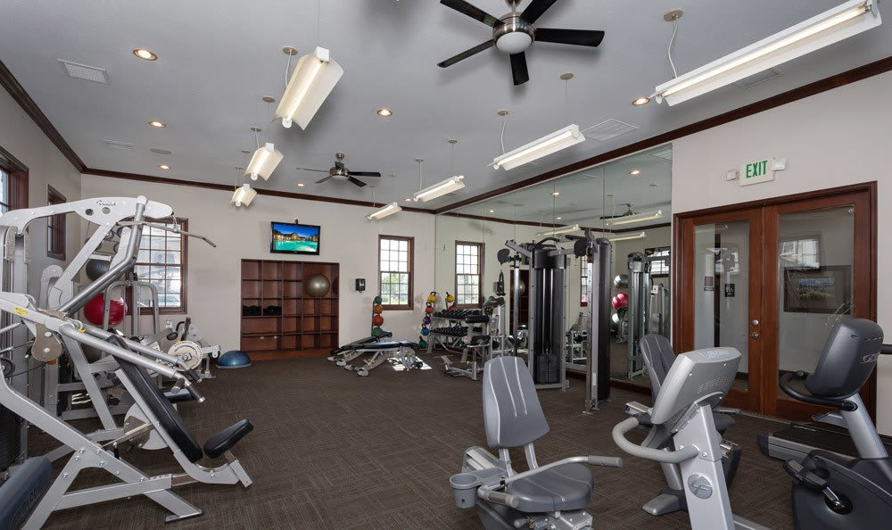 Thornton apartments Fitness Center