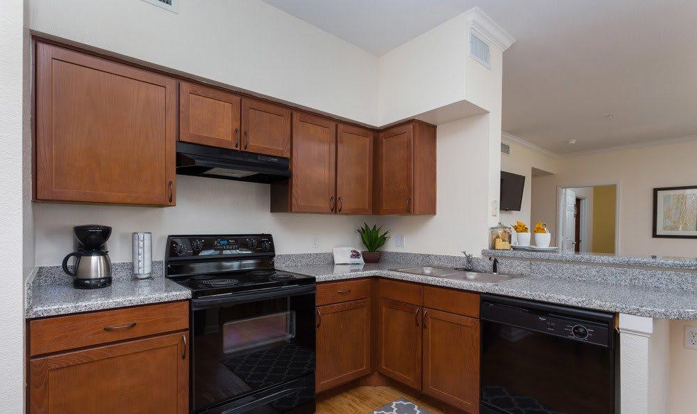 Thornton apartment kitchen interior