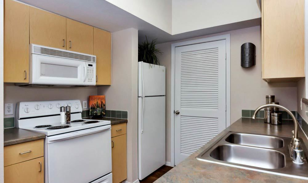 Modern appliances at apartments in Phoenix