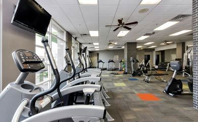 fitness center at our Phoenix apartments