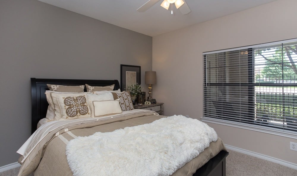 Spacious bedroom at Stoneleigh on Spring Creek