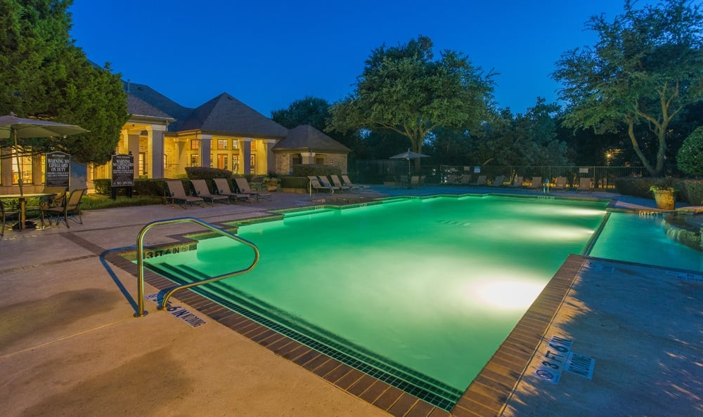Go for a swim at a beautiful pool at Stoneleigh on Spring Creek