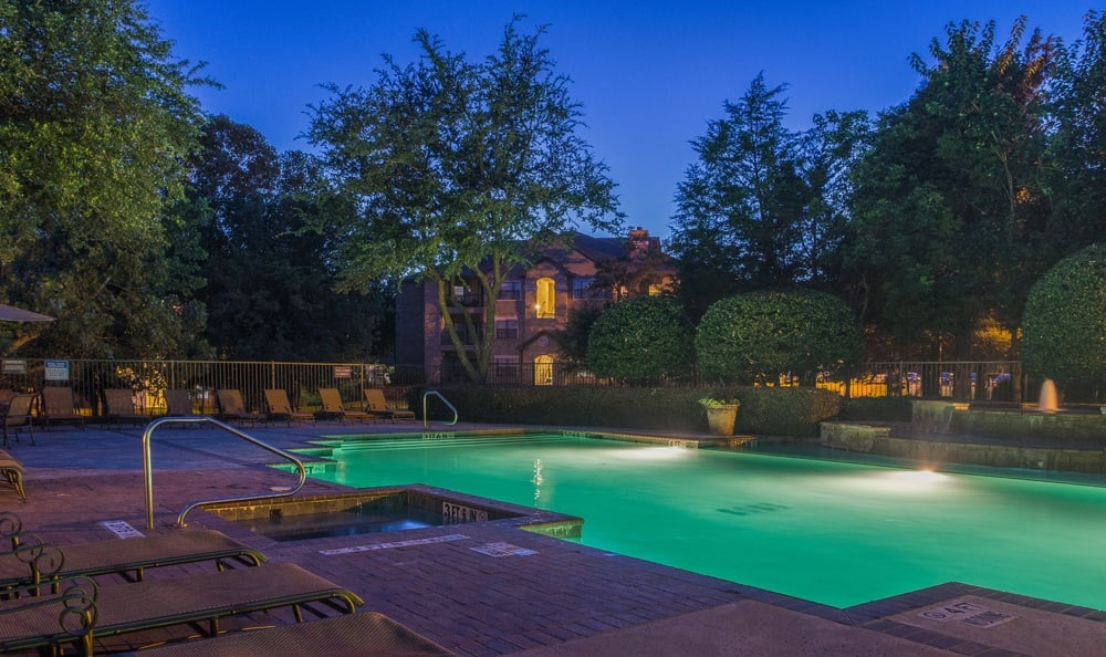 Take advantage of a great pool at Stoneleigh on Spring Creek apartments