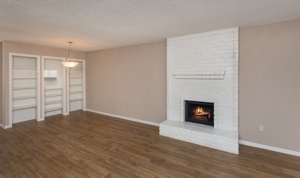 Spacous living area in our Houston apartments