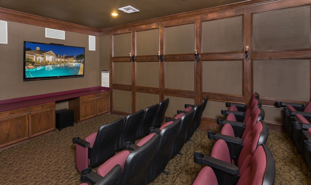 Enjoy the movie theater at Estates at Bellaire