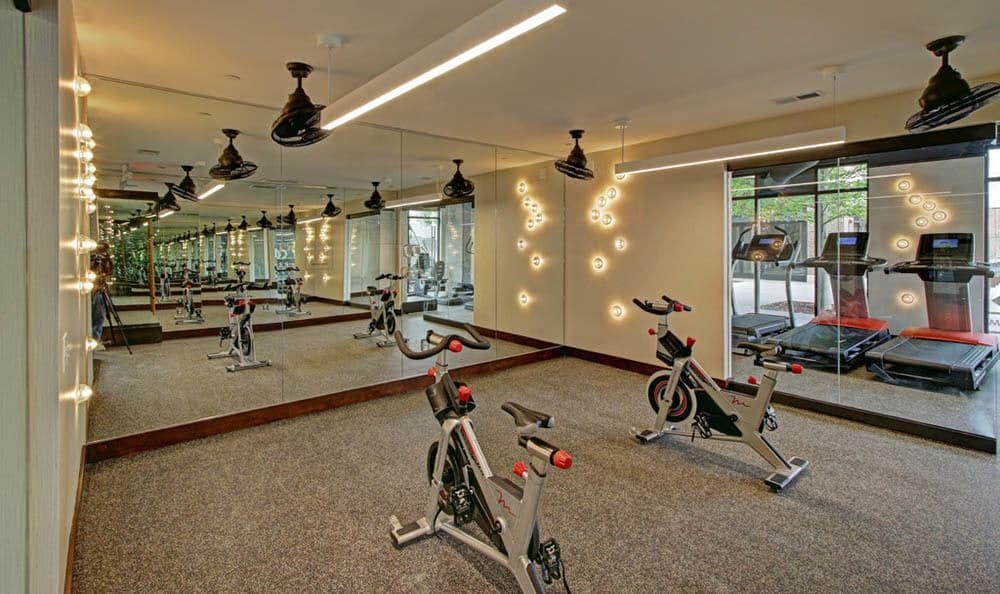Stay fit with at our fitness center