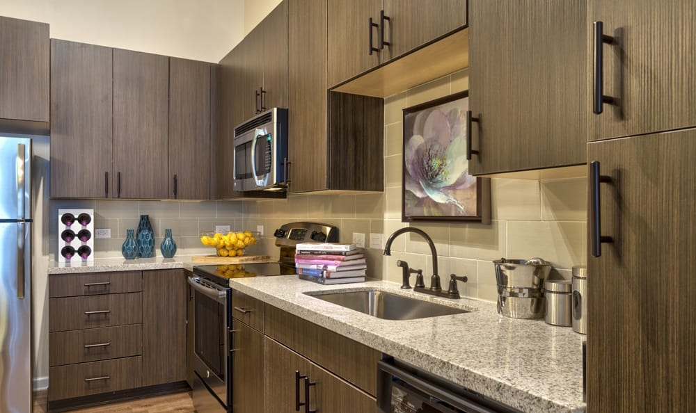Enjoy the wonderful kitchen amenities